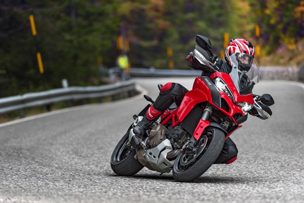 2015 Ducati Multistrada 1200 S Cornering