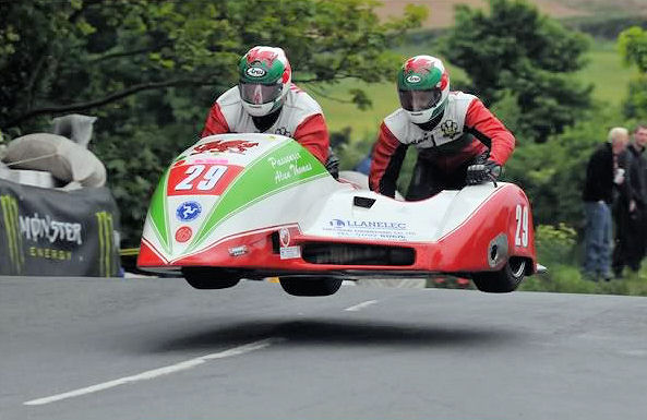 In The Air Again Tt Races Isle Man