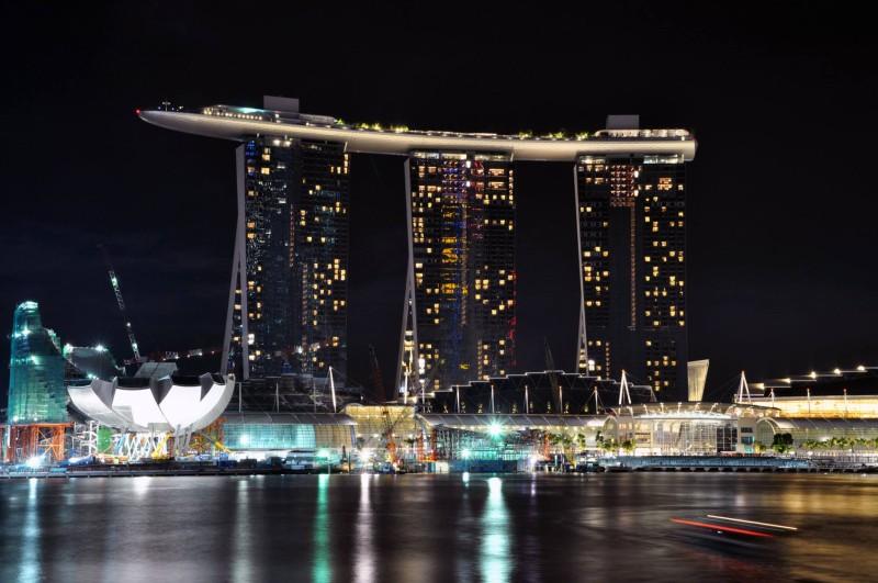 Marina Bay Sands In Singapore สวรรค์ของคนนักเที่ยว