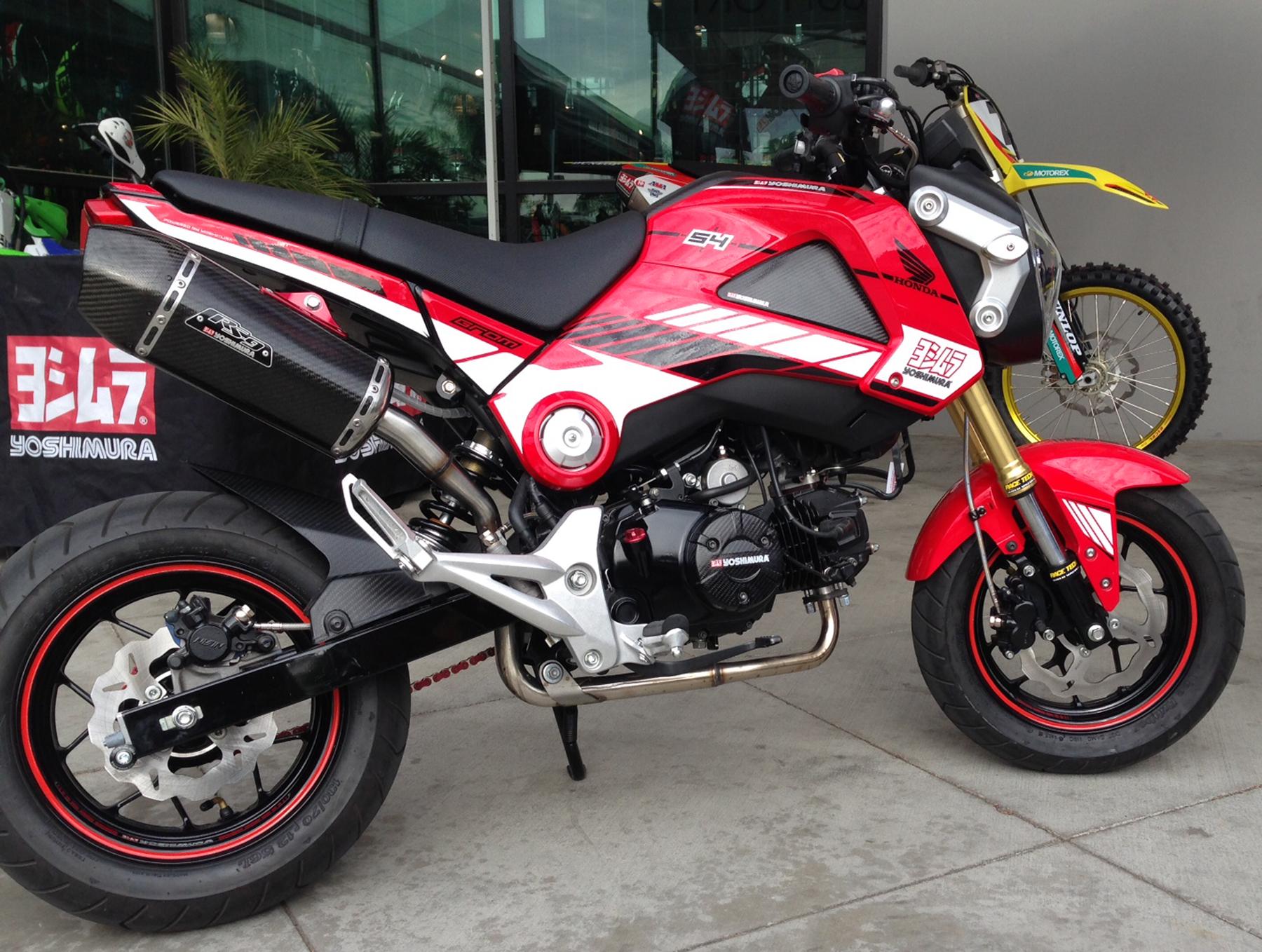 HondaGrom GalferBrakeLines Bike 0