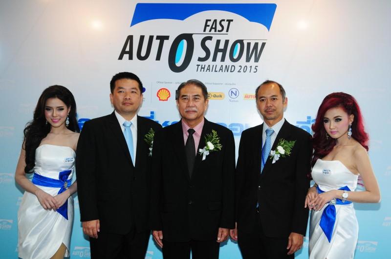 พิธีเปิดงาน FAST Auto Show Thailand 2015 – 1