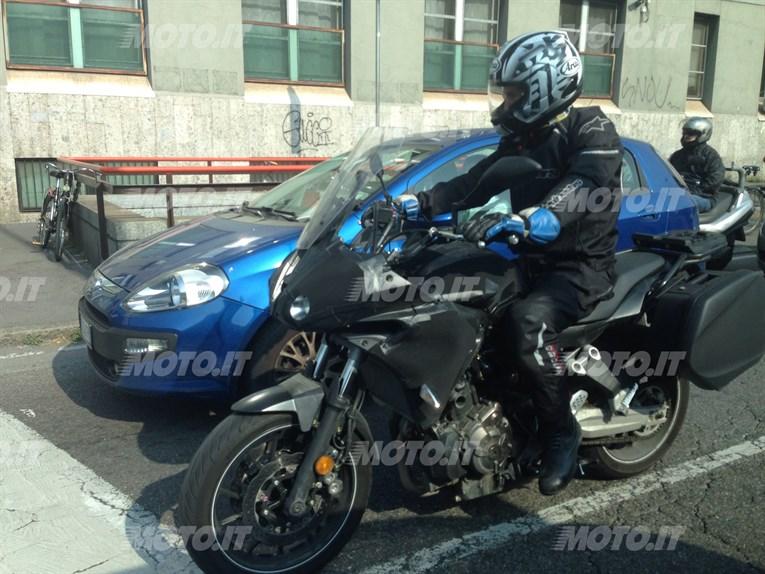 Yamaha MT 07 Testing
