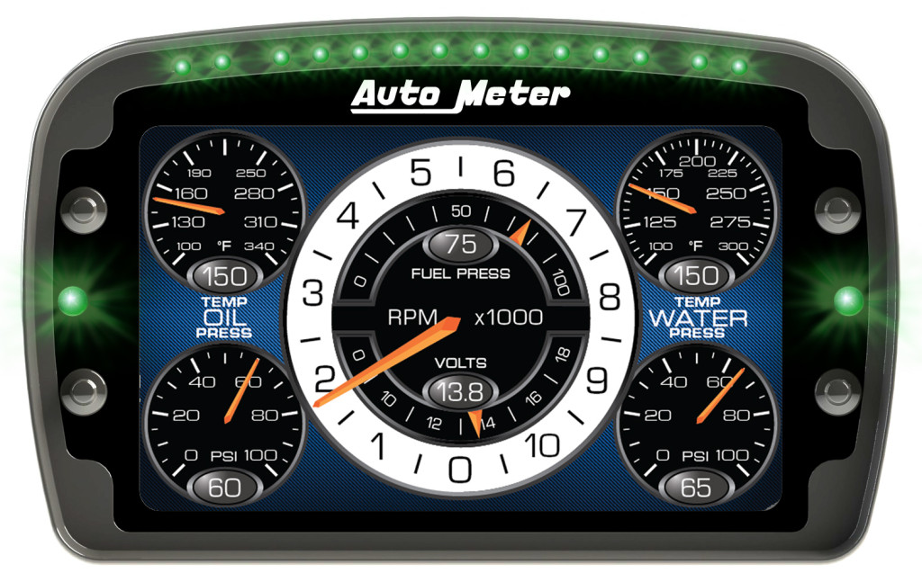 Auto Meter Lcd Competition Dash