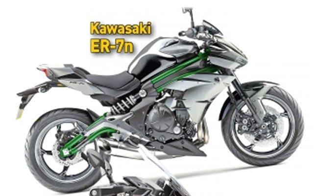 Kawasaki ER 7n 2