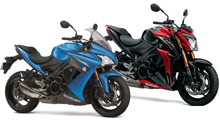 Suzuki GSX S1000 And GSX S1000F 750×410