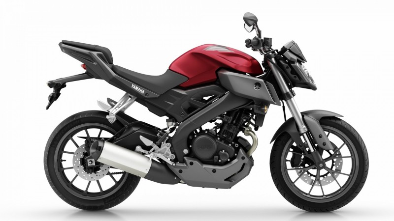 2014 Yamaha MT125 Right Side Profile