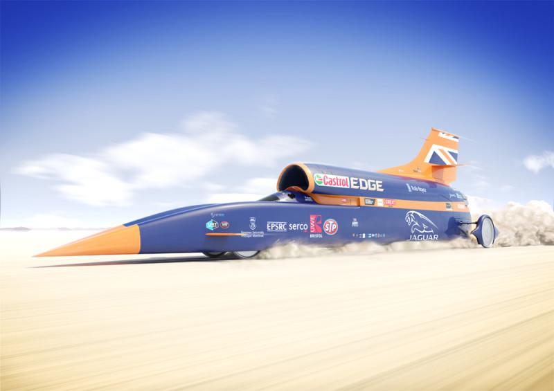 BLOODHOUND SSC Poster Side July2015