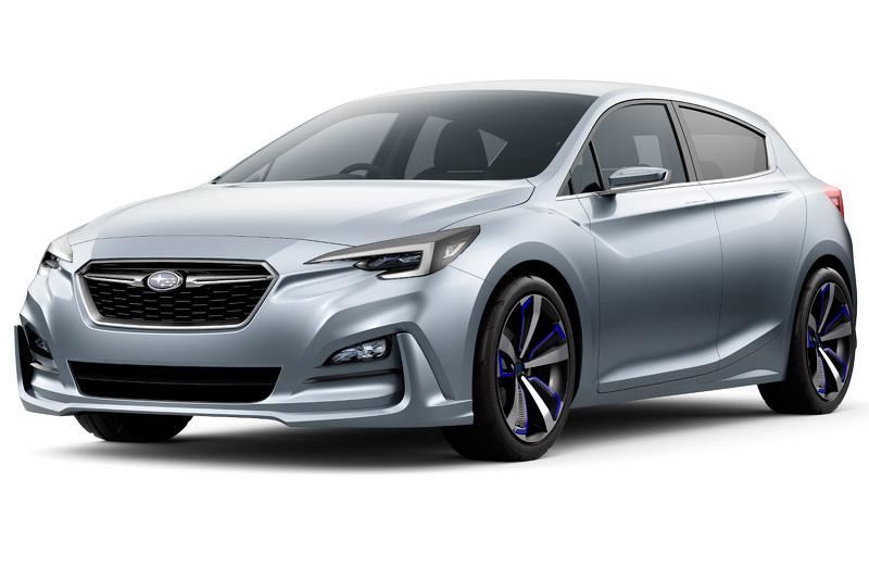 Subaru Impreza 5-Doors Concept Bow