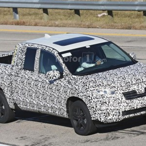 2017 Honda Ridgeline Spy Photo (6)