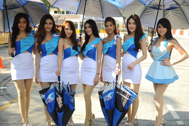 เหล่าพริตตี้งาน Bangsaen Thailand Speed Festival 2015
