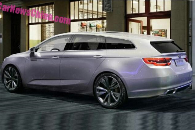 Wcf Geely Concept Spy Photo Geely Concept Spy Photo