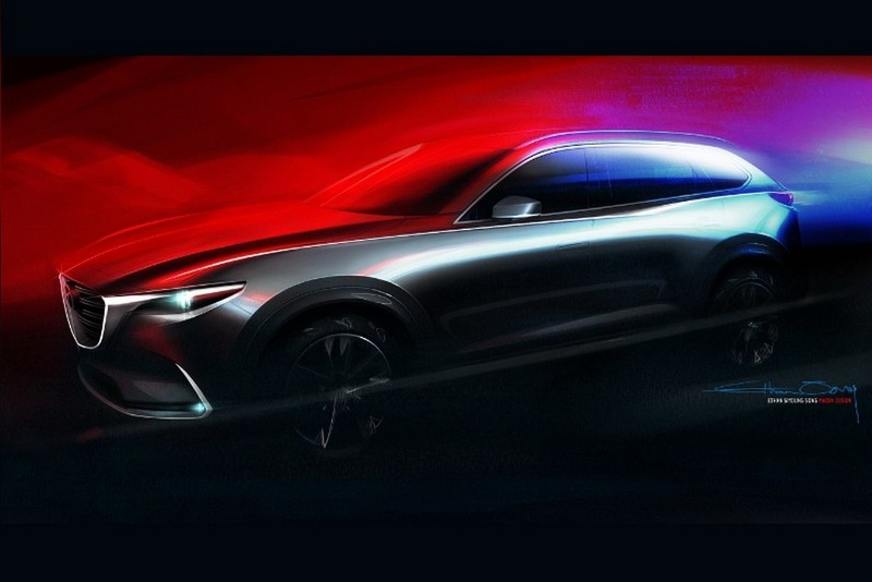 All-new Mazda CX-9 Three-row Crossover To Be Introduced At L.A. Auto Show (PRNewsFoto/Mazda Motor Corporation)