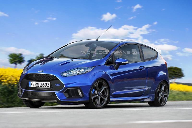 2015 586718ford Fiesta Rs Render