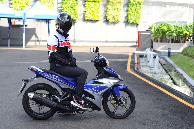 Yamaha Exciter 150 ครอบครัวกึ่งสปอร์ตสุดเร้าใจ