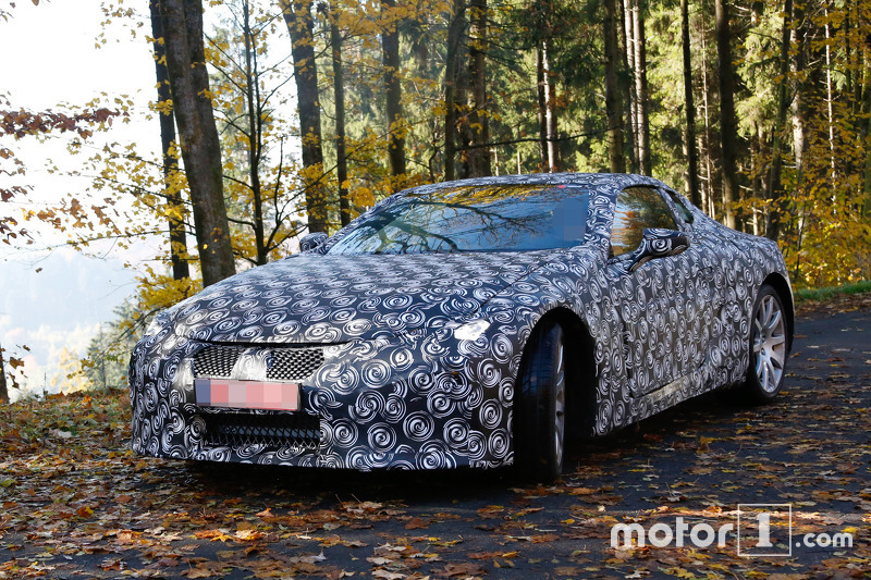 Lexus Lf Lc Spy Photo