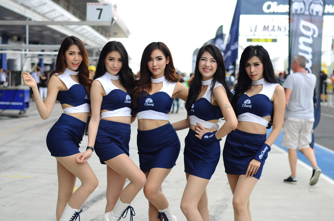 Race Queen Of Asian Le Mans Series Round.3