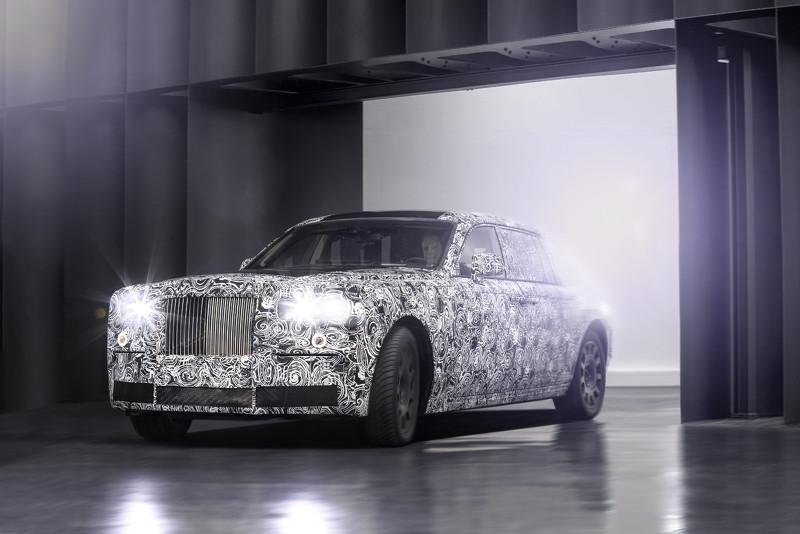 Wcf Rolls Royce Chassis Testing Mule Rolls Royce Chassis Testing Mule