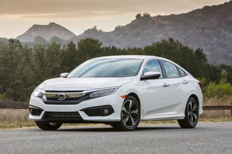 All New Honda Civic USA Version (Front)