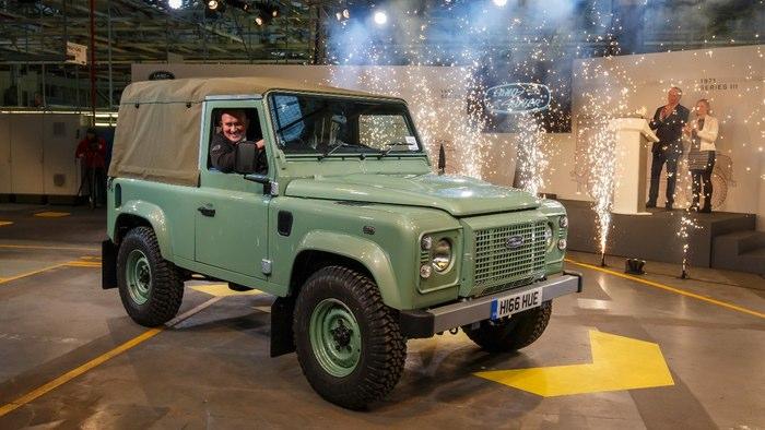 Last Land Rover Defender 81