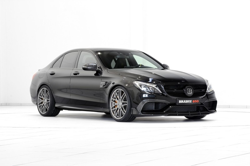 Mercedes Amg C63 S By Brabus