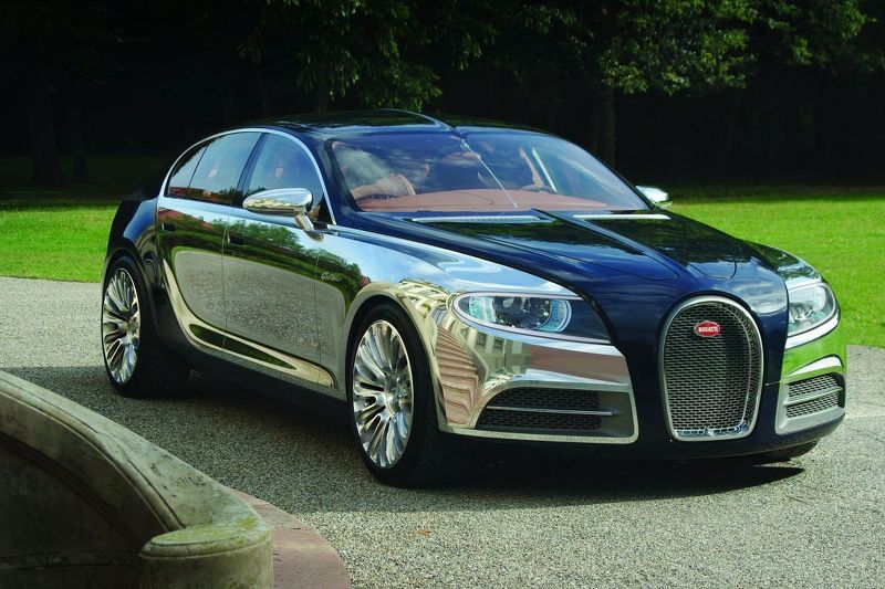 2009 499244 Bugatti 16 C Galibier Concept 1600
