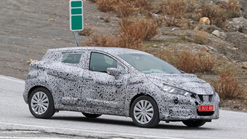 2017 Nissan Micra Spy Photo (5)