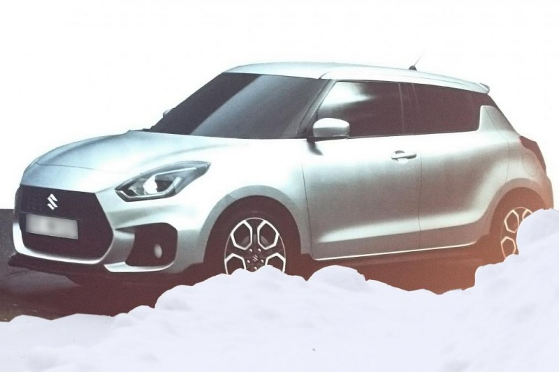 2017 Suzuki Swift Leaked Doesnt Look Half Bad 1