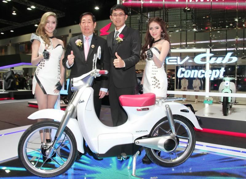 Honda EV Cub Concept 1