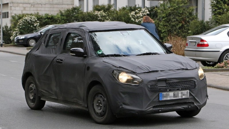 2017 Suzuki Swift Spy Photo (6)