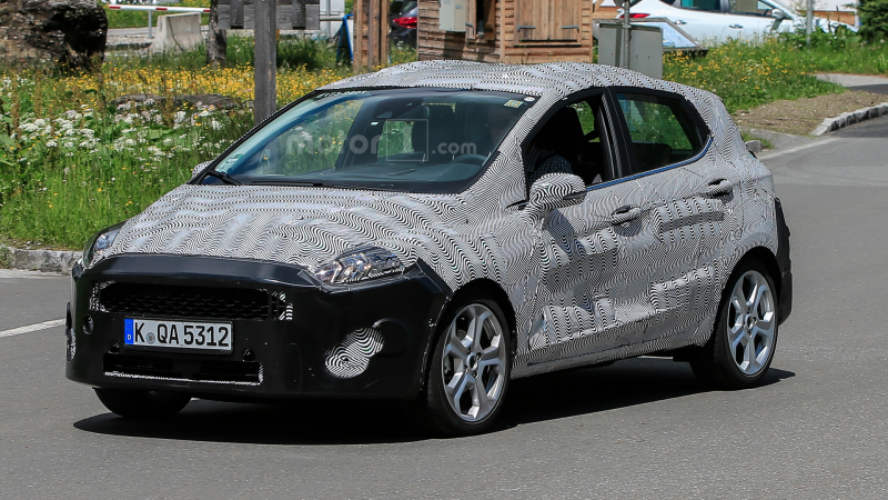 2018 Ford Fiesta Spy Photo (3)