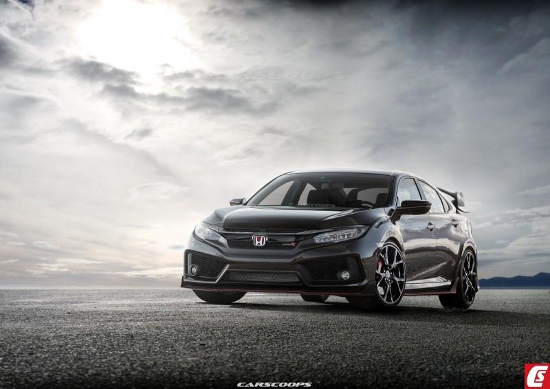 2017 Honda Civic Type R Carscoops2