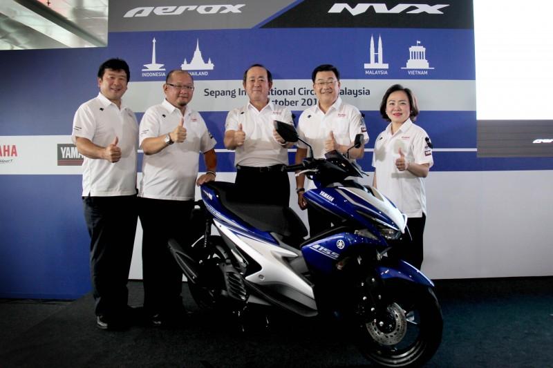 Yamaha Aerox 155 002