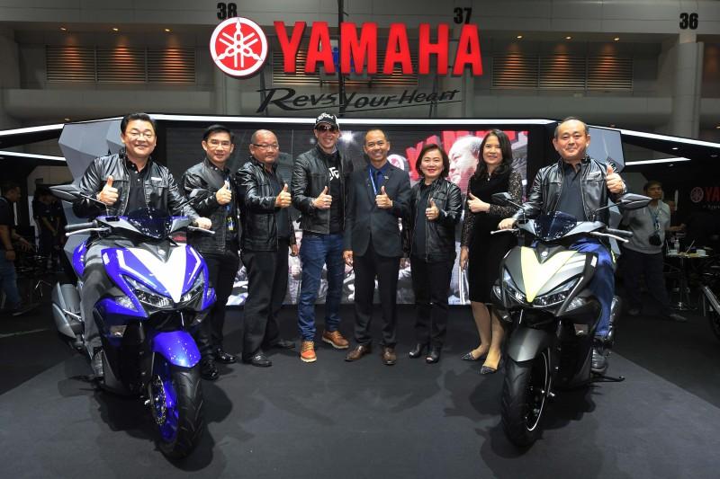 01 ยามาฮ่าเผยโฉม Yamaha AEROX 155 ที่สุดแห่งสปอร์ตออโตเมติก และ Yamaha XSR900 บิ๊กไบค์แนว SPORT HERITAGE
