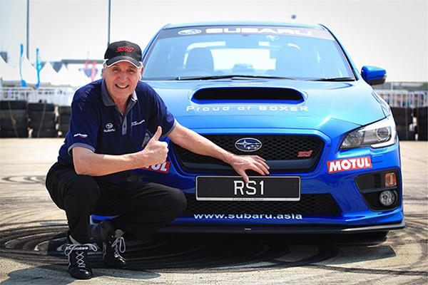 Subaru Russ Swift Stunt Show