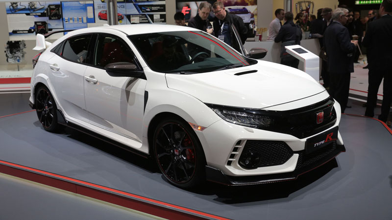 2017 Honda Civic Type R Production Spec