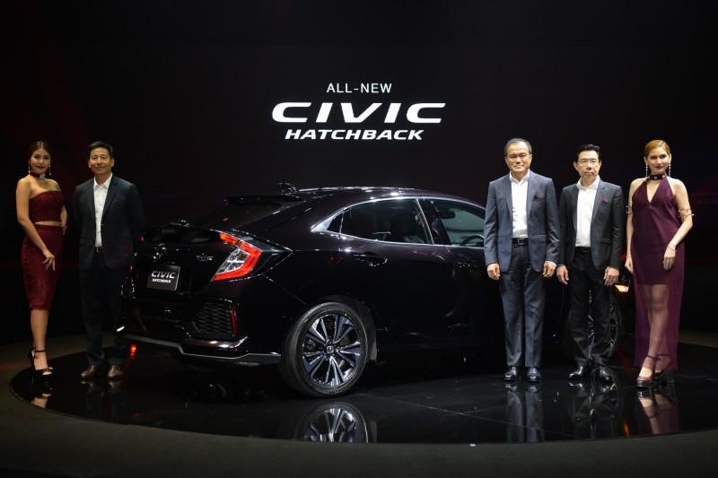 All New Honda Civic Hatchback 1