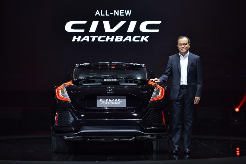 All New Honda Civic Hatchback 2