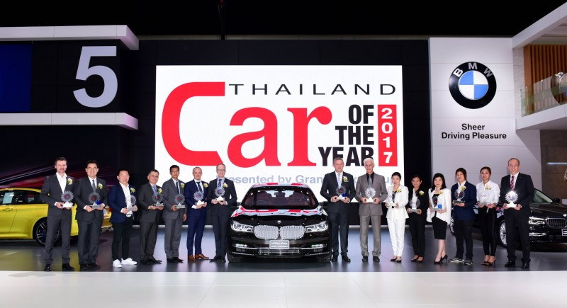 BMW Group Thailand Car And Bike Of The Year 2017