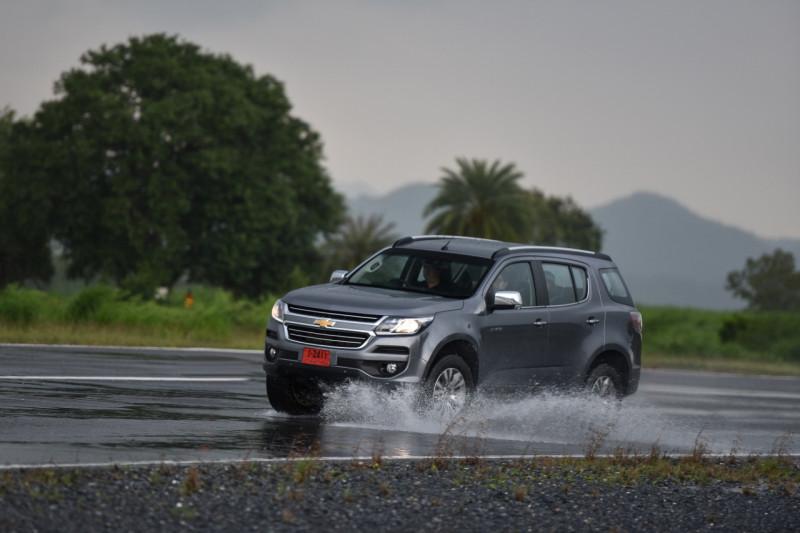 Chevrolet Moutain Travel In Rainy Season 2