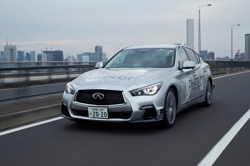 2.Nissan Tests Fully Autonomous Prototype Technology On Streets Of Tokyo