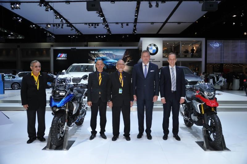BMW Motorrad At Motor Expo 2017
