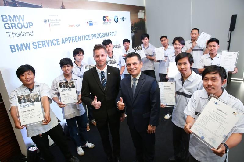 BMW Service Apprenticeship Certificate Ceremony