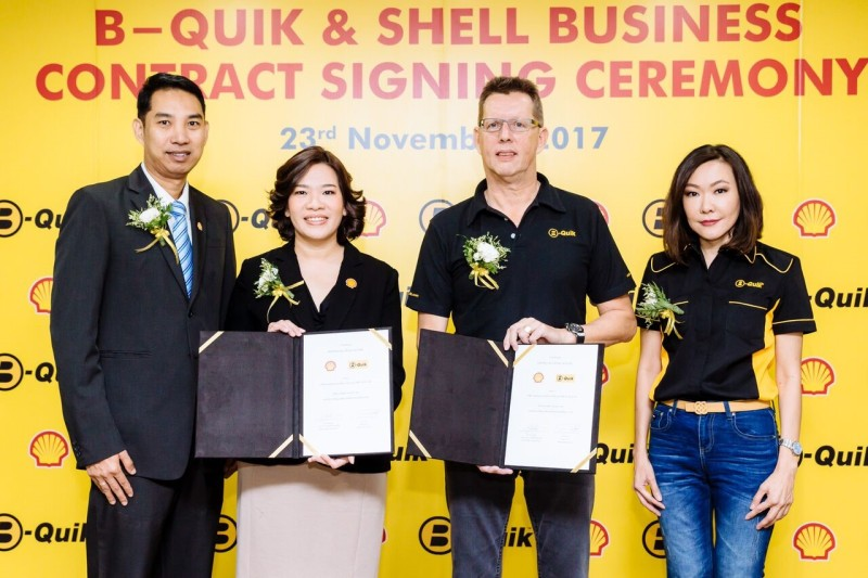 Shell Business Contract Signing With BQuik