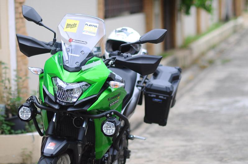 สัมผัส Kawasaki Versys-X300 รถลุยก็ได้ ขี่ทางเรียบก็ดี