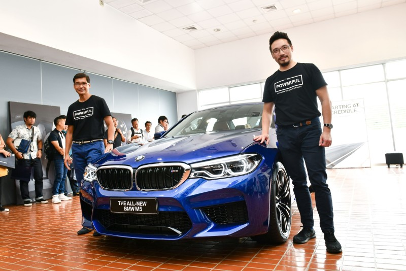 Exclusive Preview Of The All New BMW M5 (1)