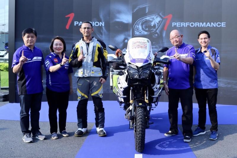 ยามาฮ่าร่วมสนับสนุนการเดินทางครั้งประวัติศาสตร์คนไทยคนแรก พิชิต 7 ทวีป ด้วย Yamaha Super Tenere