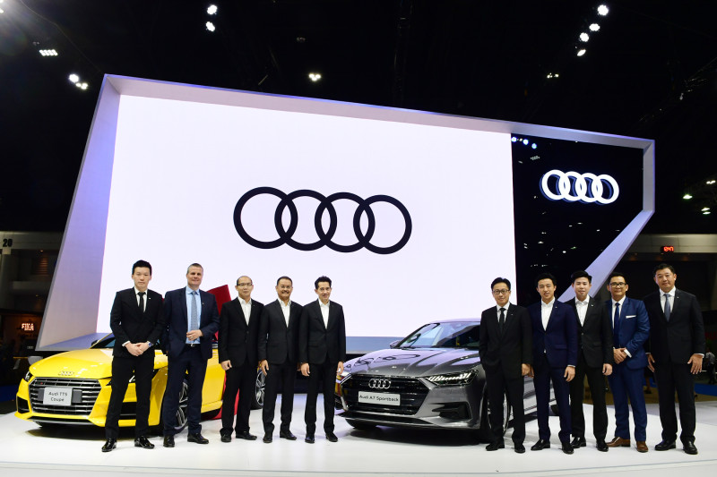 Audi 34 ทีมผู้บริหาร Audi Thailand  และ  Audi AG