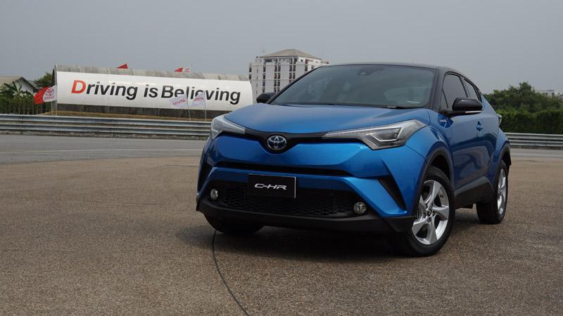 ลองขับ Toyota C-HR 1.8 Hybrid เส้นทางกรุงเทพฯ-ตราด