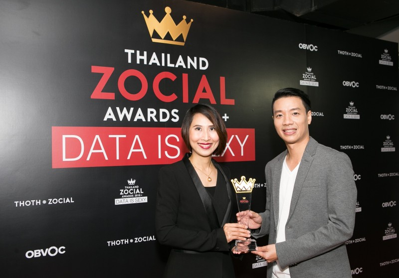 Ford Won Thailand Zocial Award 2018