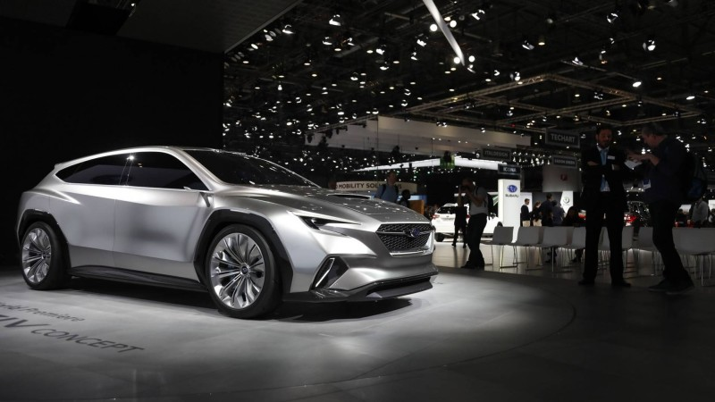 Subaru ส่งรถต้นแบบ Viziv Tourer Concept ร่วมงานเจนีวา มอเตอร์โชว์ 2018